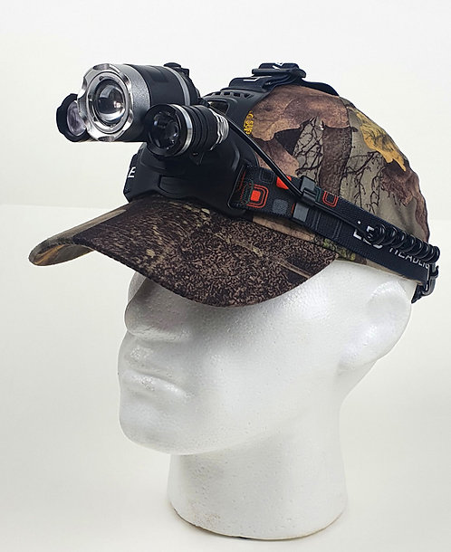 New to Durham Decoys. High Power LED Head torch with 4 settings.