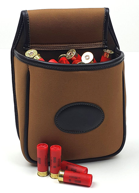 Canvas & Leather Cartridge Pouch