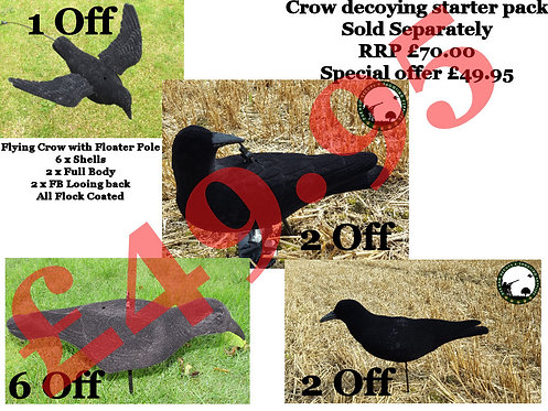 CHECK THIS OUT!!! Crow Decoying Starter Pack -£49.95 (RRP £70.00) Save Over £20.00!!!
