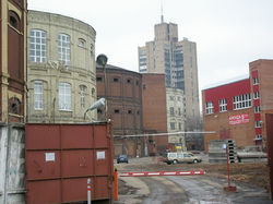 Before reconstruction of gasholders