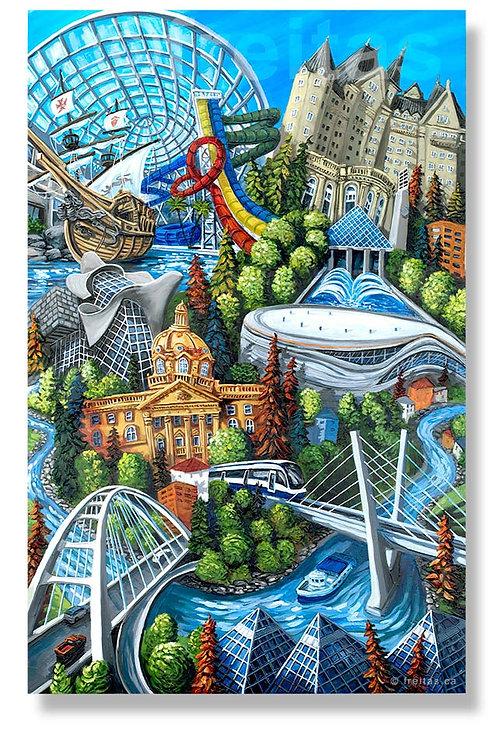 Edmonton Collage