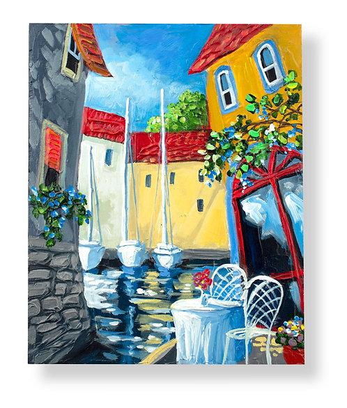 10x8 Original Painting #151