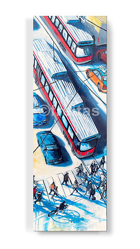 freitas-pop-art-toronto-steetcars-commut