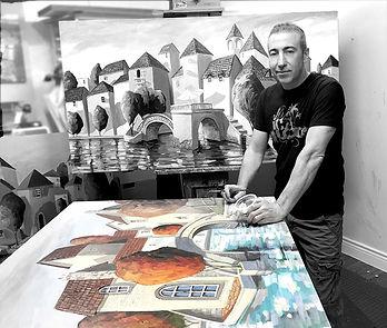 Miguel Freitas artist studio