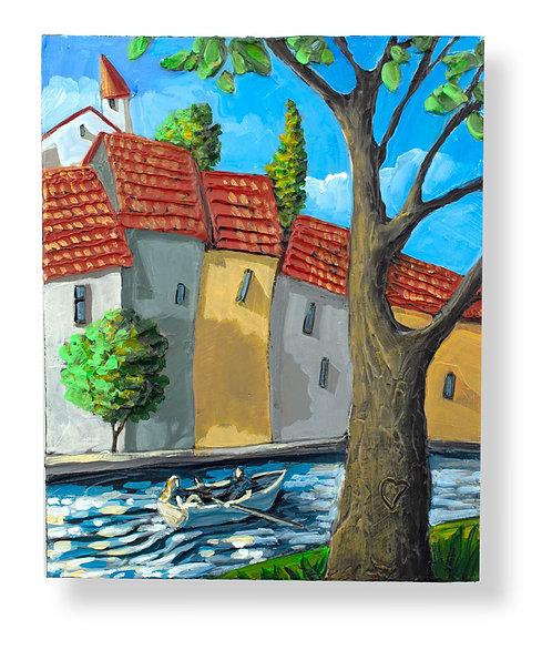 10x8 Original Painting #130