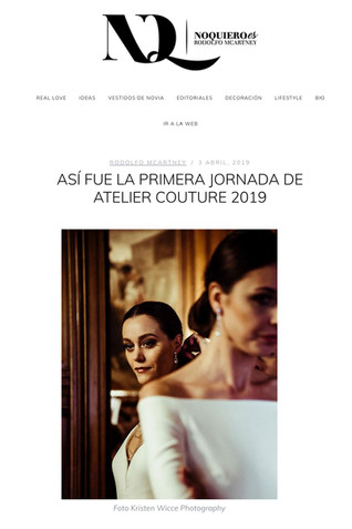 Atelier Couture Kristen Wicce