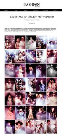 Backstage Kristen Wicce MBFWMadrid