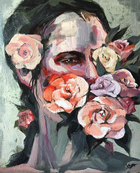 Cabeza y Flores