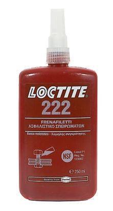 LOCTITE 222 (250 ML), adesivo frenafiletti, resistenza bassa