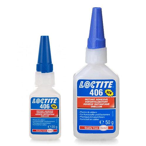 LOCTITE 406 (20 GR.), adesivo istantaneo per plastica e gomma