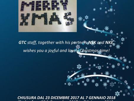 Chiusura natalizia 2017 - Xmas closing