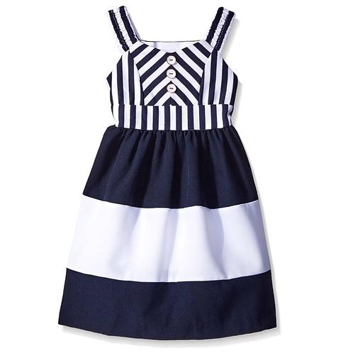 BonnieJean girl Dress,Navy