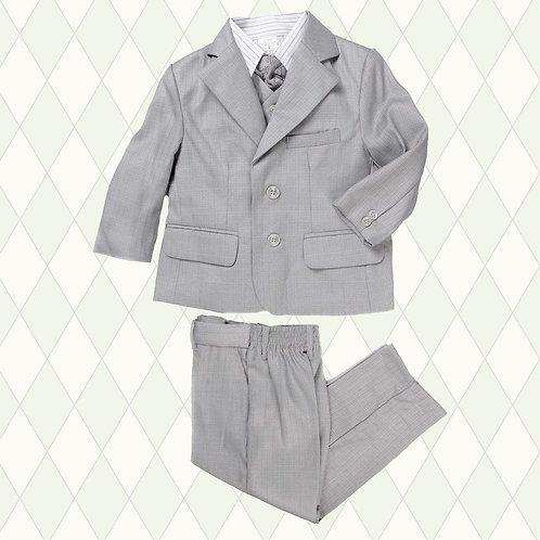 Light grey 5 pieces suit