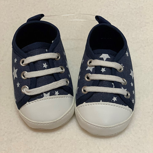 Baby navy star shoes