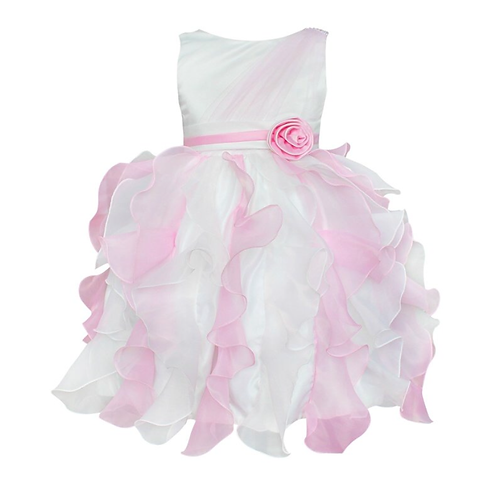 Princess white & pink dress