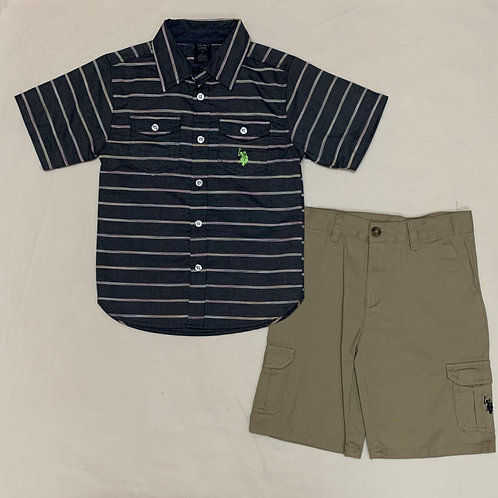 USPA  Boys 2pc Set