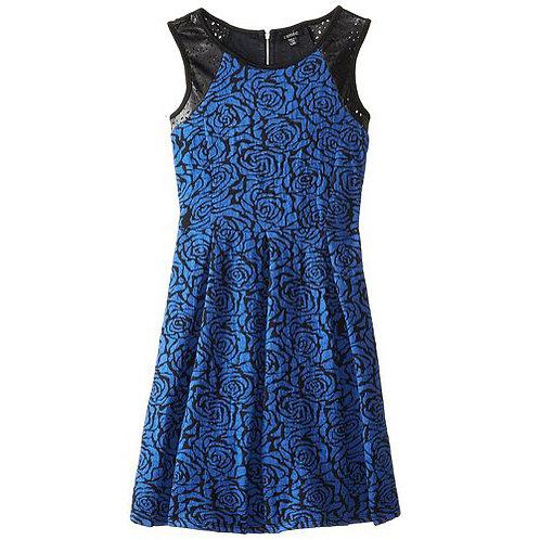 Zune blue dress