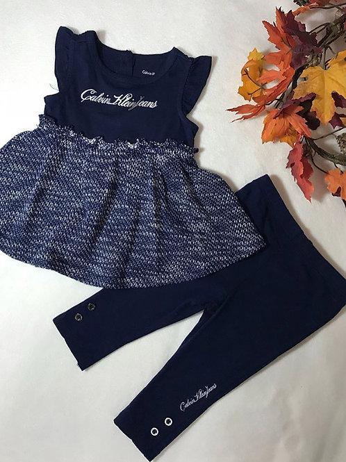 Calvin Klein Jeans 2 piece girl set