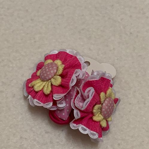Girls hair ties princess flowers