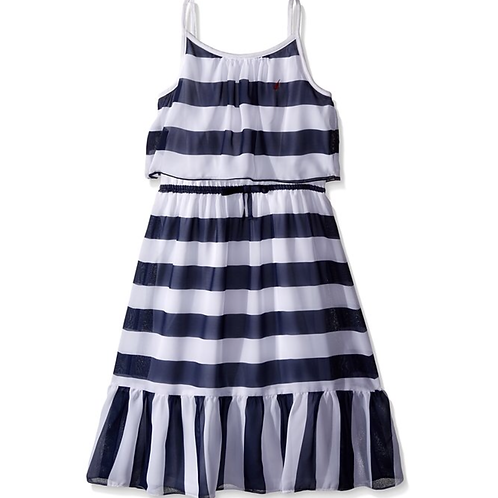 Nautica Girls navy dress