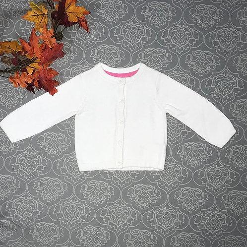 Baby Girl white sweater