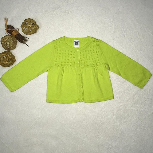 Baby Girl green sweater