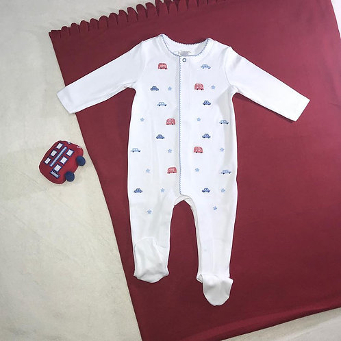 baby boy bodysuit with toy set