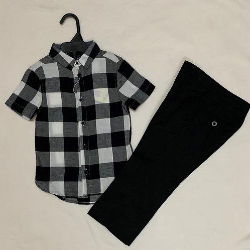 Black & white boy set