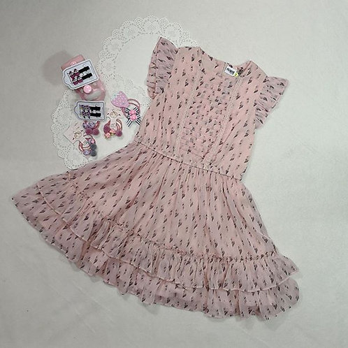 light pink girl dress