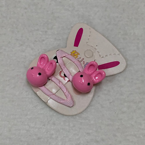 Baby girl pink clips