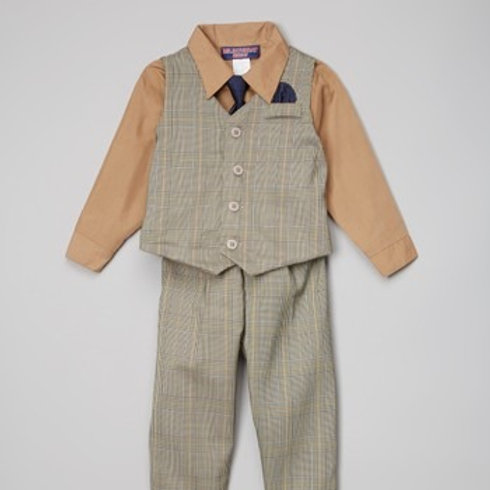 baby boy 4 pieces suit