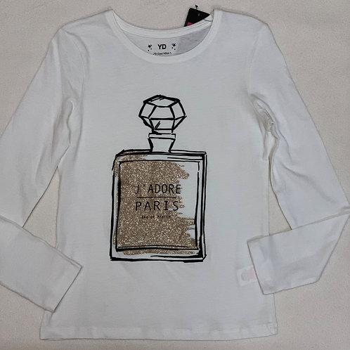Gold perfume t-shirt
