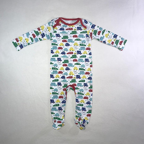 baby boy cars bodysuit