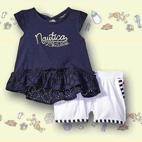 nautica baby girls set