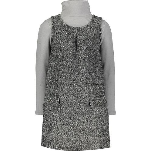 MINOTI Grey Sleeveless Dress & Long Sleeve Tunic