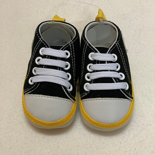 Baby boy black sport shoes
