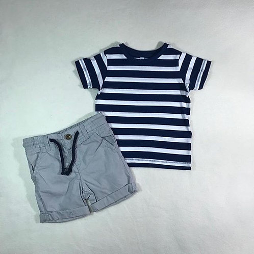 Baby boy short set