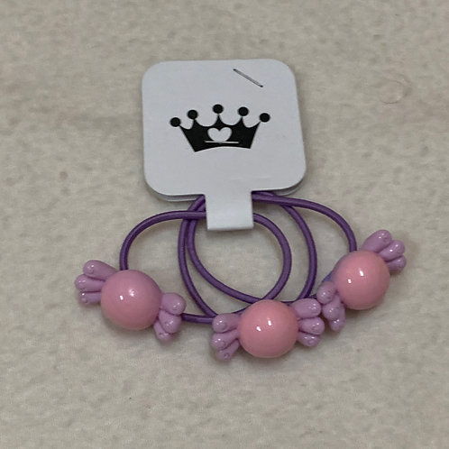 Baby girl hair tie sweets