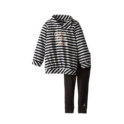 Calvin Klein Stripes Black Tunic