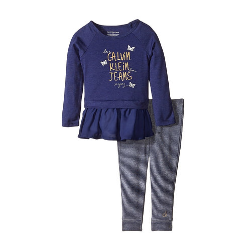 Calvin Klein Blue Tunic Set