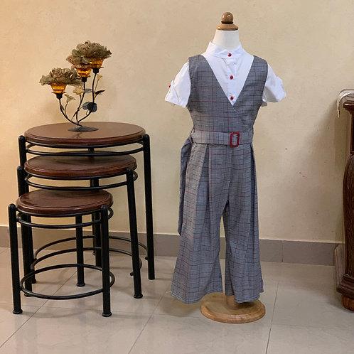Girl grey overall