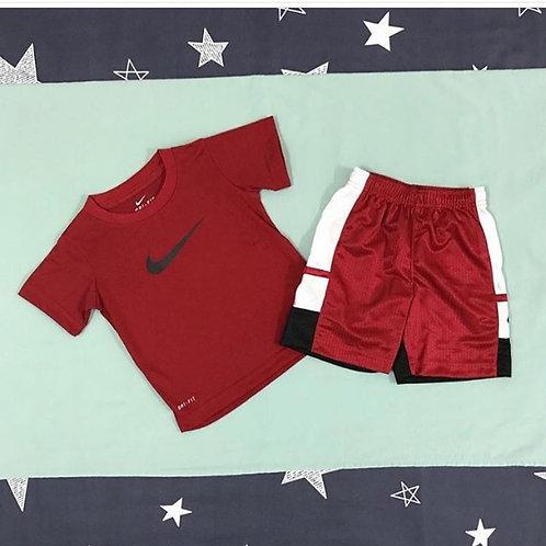 Nike red boys set