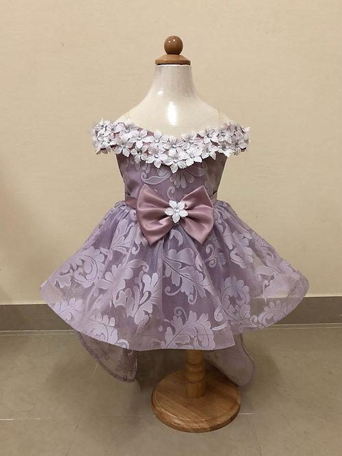 Purple girls dress
