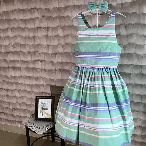 Ralph Lauren multi green dress