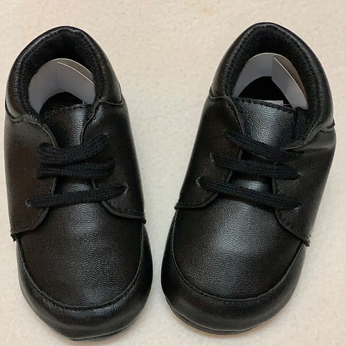 Baby boy black shoes