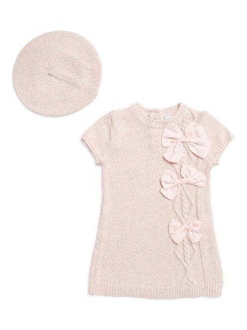 Jillian's Closet Pink Knitted Dress Size  12 MTHS