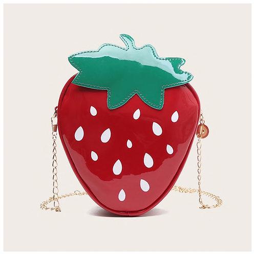 Girls Strawberry Design Bag