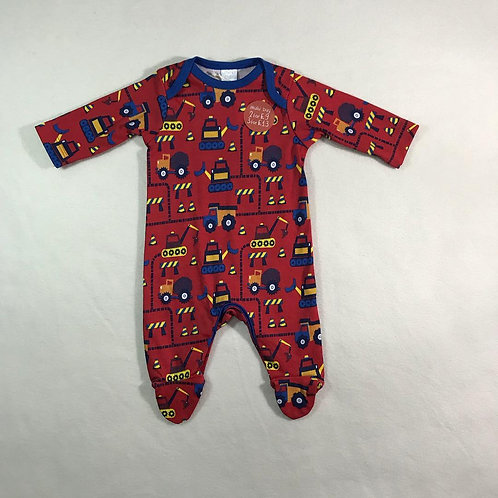 baby boy Bodysuit red