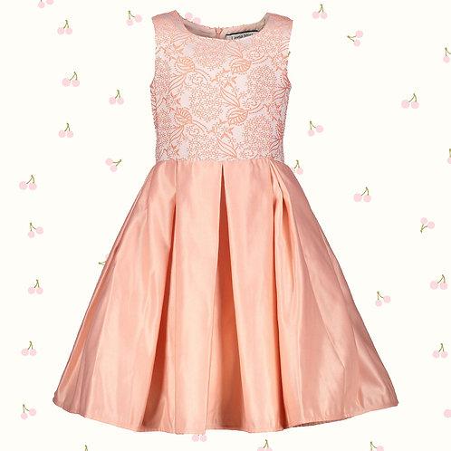 LITTLE MISS Peach Dress