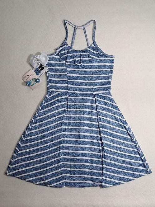 girls Abercrombie blue dress